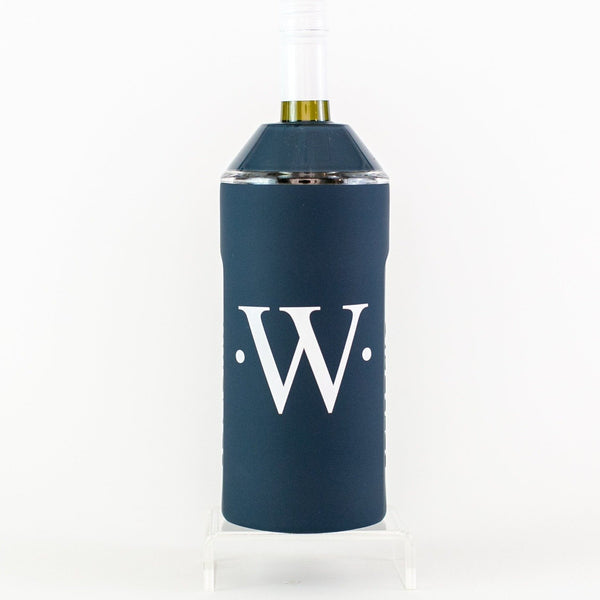 Vinglace Wine Chiller - Navy - Monogrammed