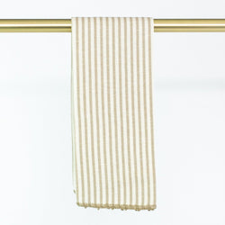 Busatti Stripe Hand Towel - Personalize or Monogram - Sand