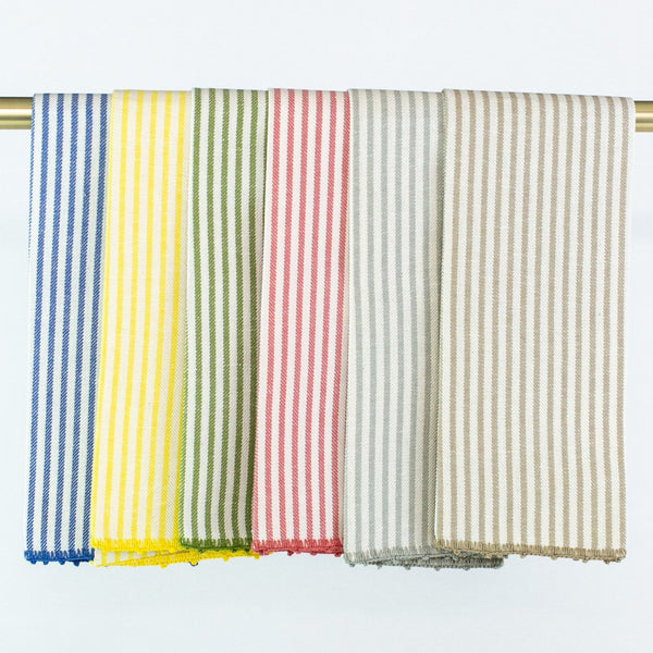 Stripe Hand Towel - Multiple Colors - Personalize or Monogram