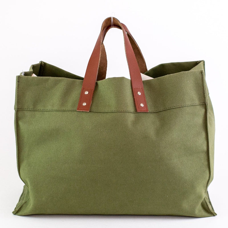 Town & Country Tote - Olive - Monogrammed