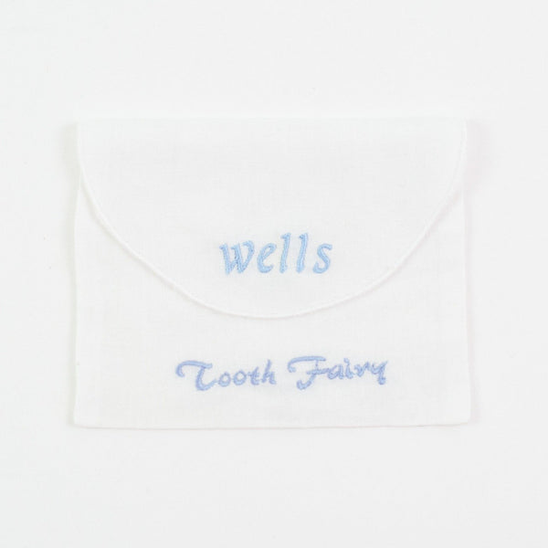 Tooth Fairy Envelope - Personalized - Blue