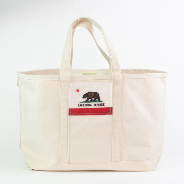 California Flag Boat Tote