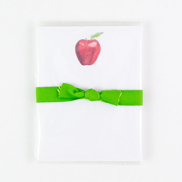 Mini Notepad with Apple