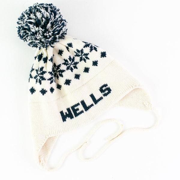 Nordic Knit Earflap Hat - Personalized