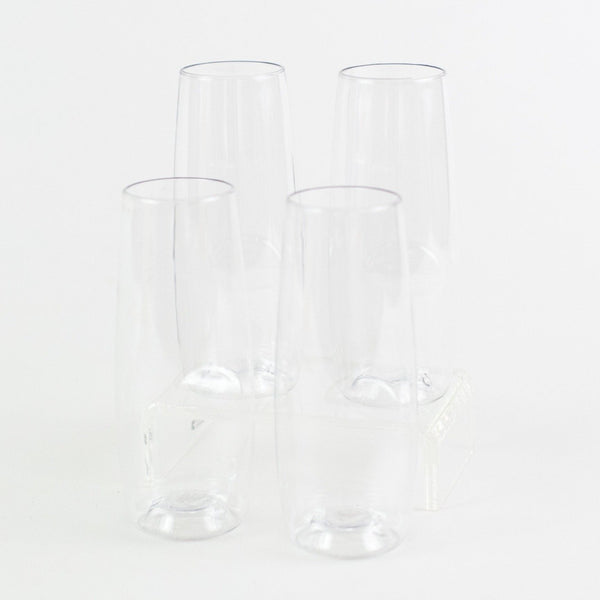 GoVino Champagne Glasses - Personalized