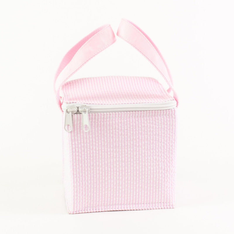 Snack Square - Monogrammed - Pink