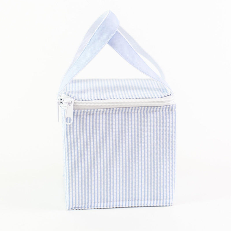Snack Square - Monogrammed - Light Blue