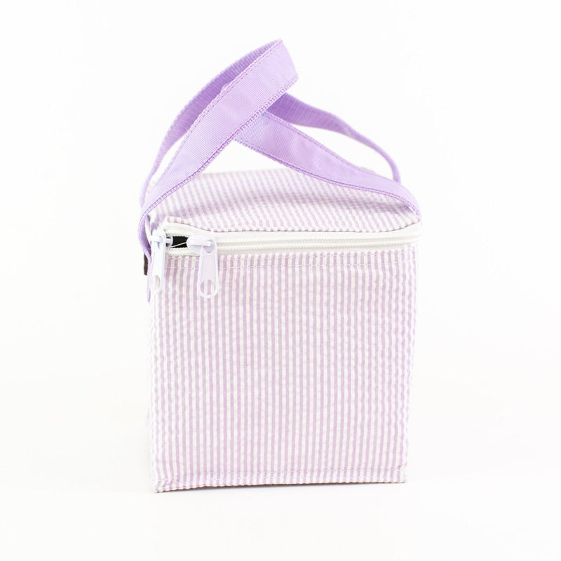 Snack Square - Monogrammed - Lilac