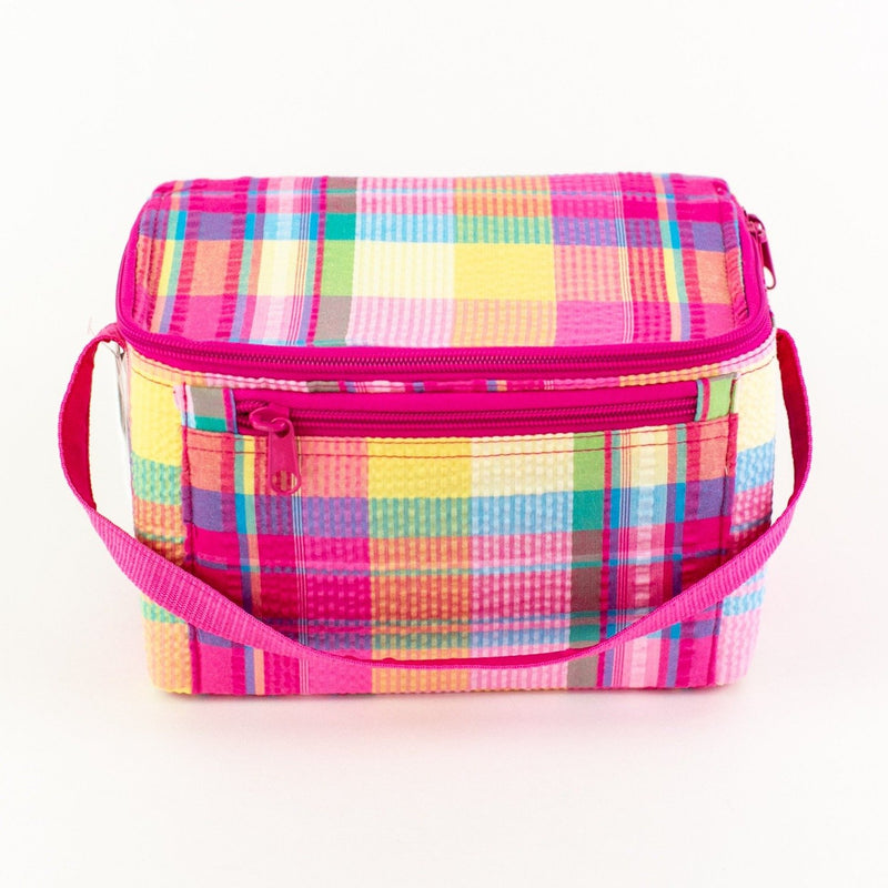 Rectangular Lunch Box - Madras - Monogram or Personalized