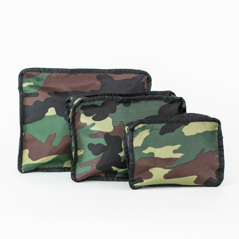 3-piece Stacking Set, Monogrammed, Camo