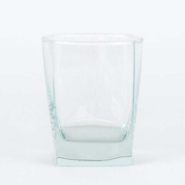 Square Double Old Fashioned Glasses - Monogrammed