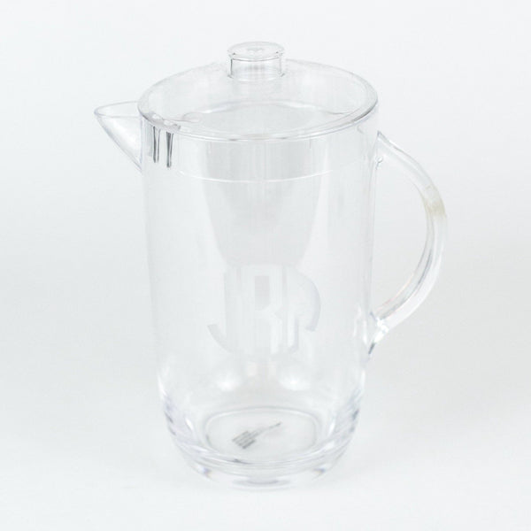 Etched 2 qt. Acrylic Pitcher - Personalized