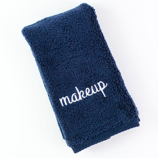 Makeup Towel - Navy