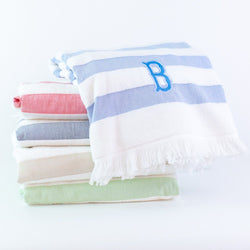 Matouk Amado Beach Towel - Monogrammed - Assorted Colors