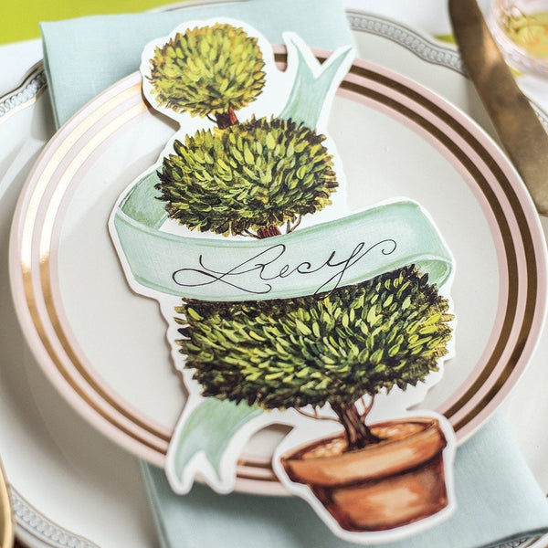 Topiary Place Cards