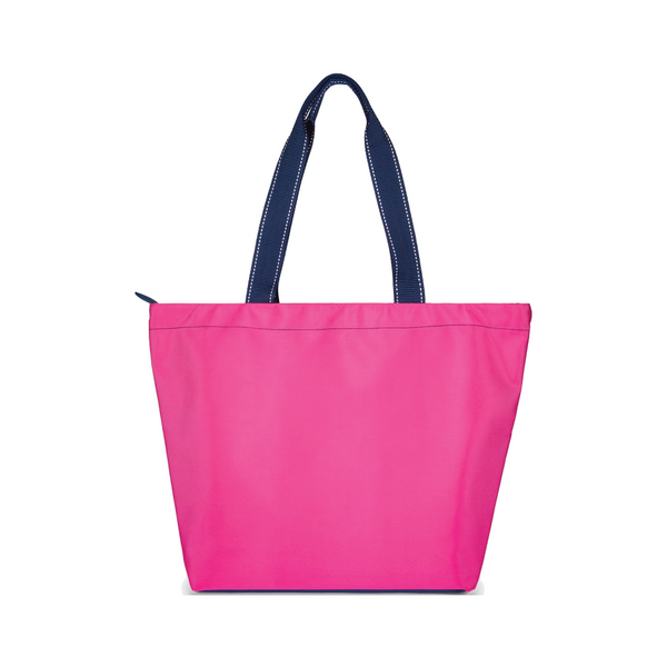 Surfside Tote - Hot Pink - Monogrammed