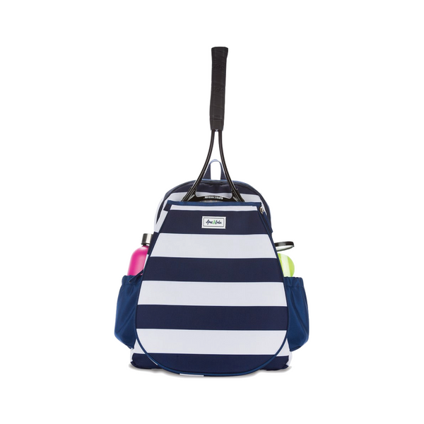 Tennis Backpack, Striped