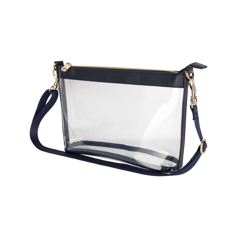 Lucy Clear Bag - Navy