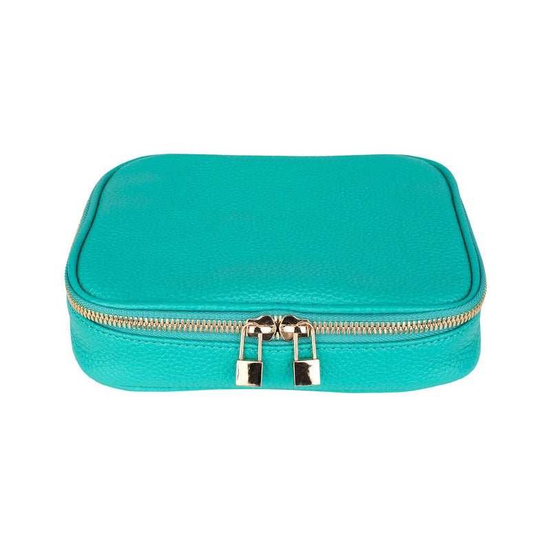 Isabella Jewelry Case - Personalized - Mint