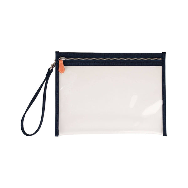 Gigga Small Clear Pouch - Navy