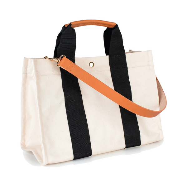 Kylie Tote features a removable organizational insert - Panda - Personalized