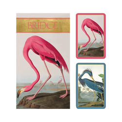 Bridge Playing Cards Set - Flamingoes