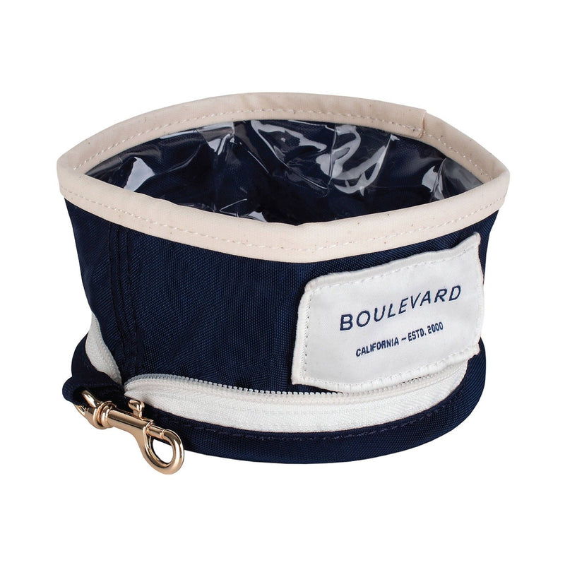 Small Benji Dog Bowl - Navy