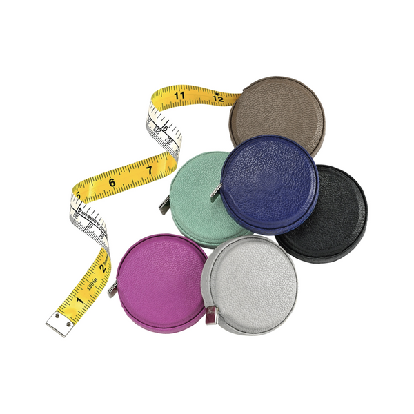 Leather Tape Measure - Assorted Colors - Personalized