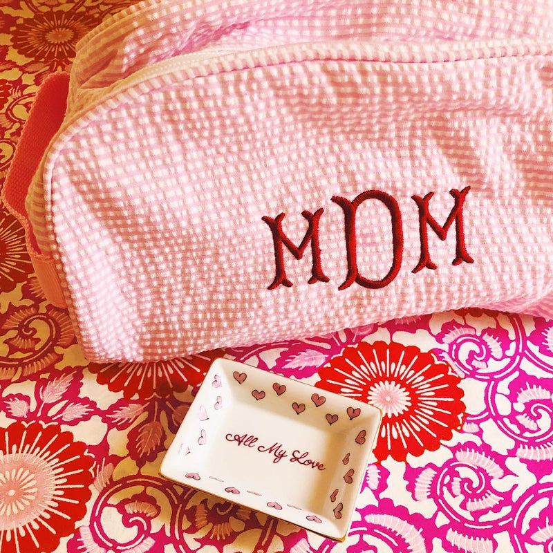 Monogrammed Traveler - Assorted Colors