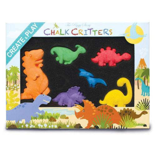 Chalk Critters - dinosaurs