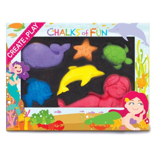 Chalk Critters - under the sea