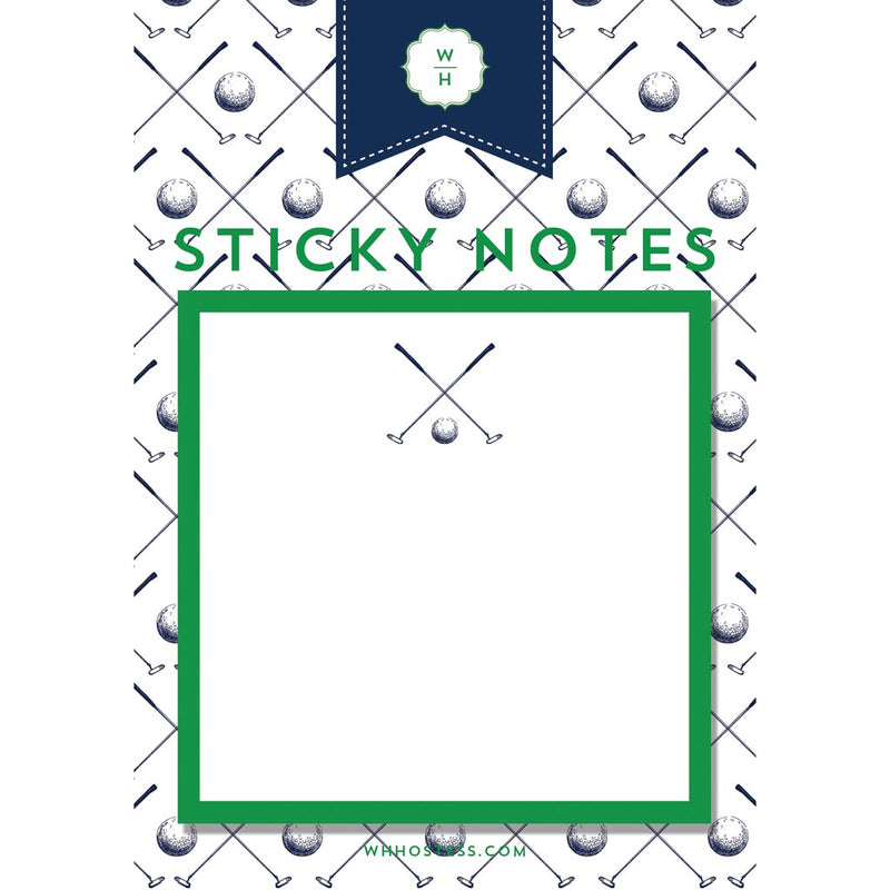 Sticky Notes - Golf