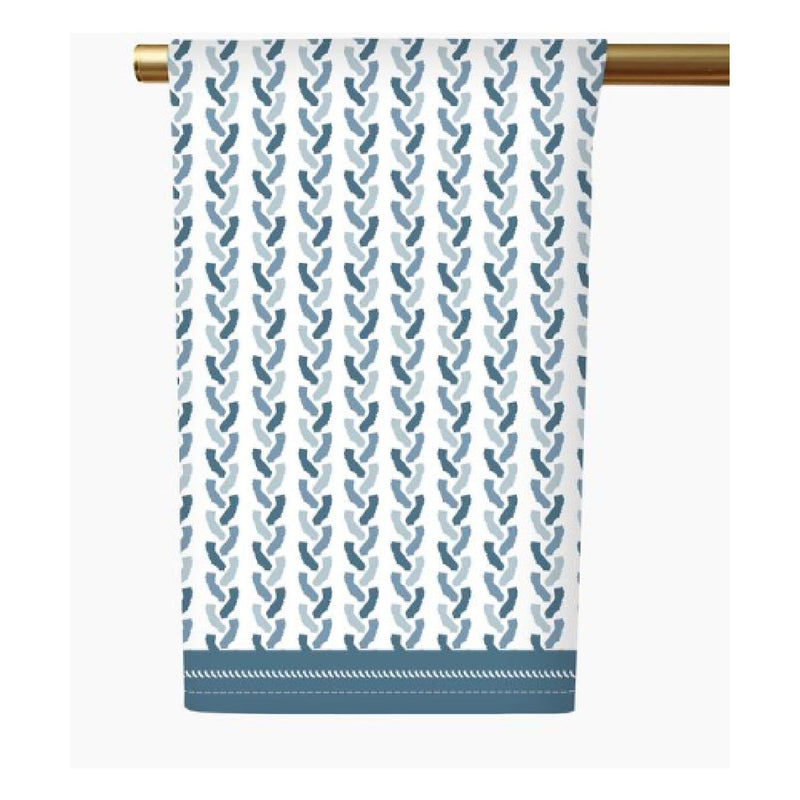 California Tea Towel - Blue