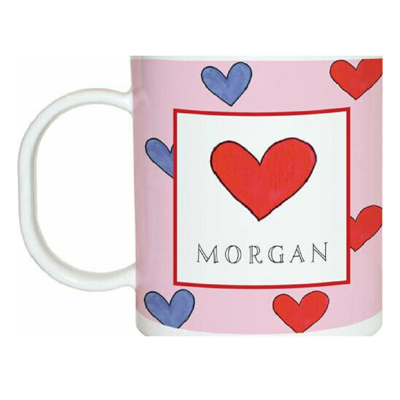 Happy Hearts Tabletop - Mug - Personalized
