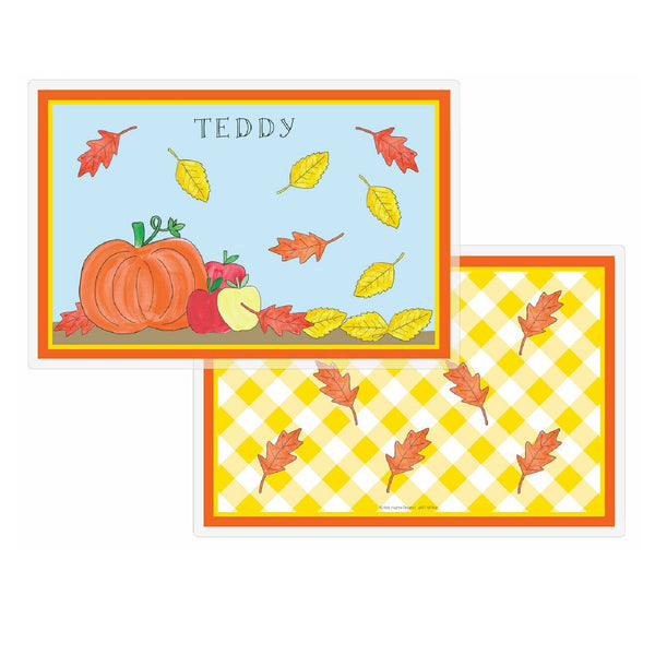 Fall Fling Tabletop Collection - Placemat - Personalized