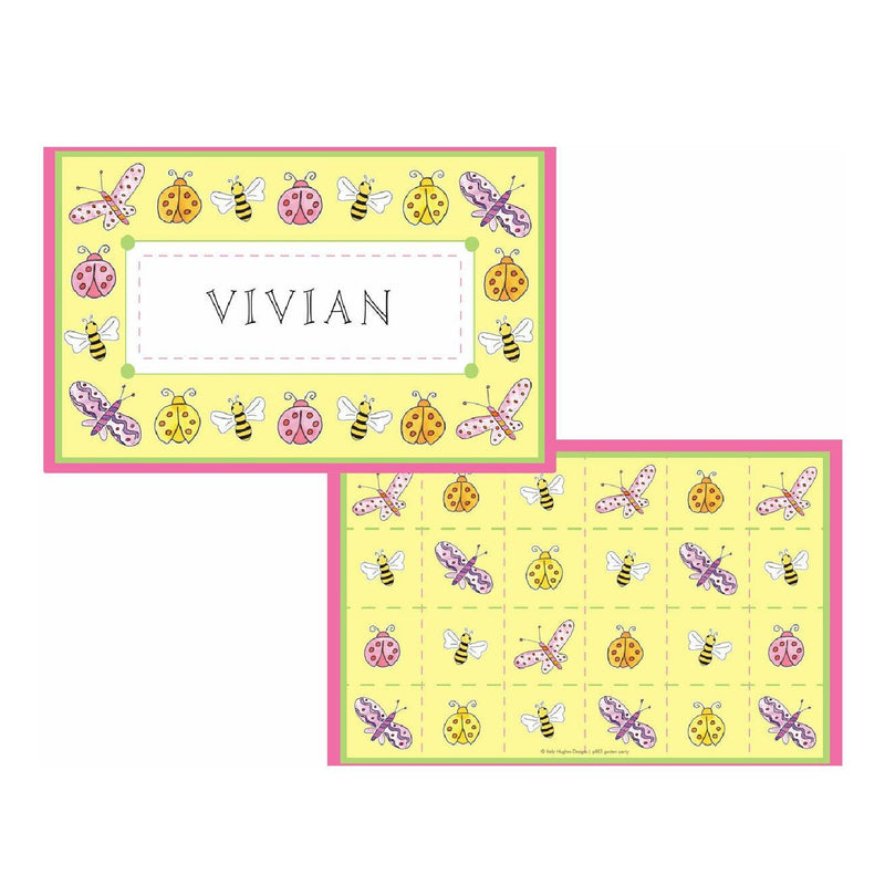 Garden Party Tabletop - Placemat - Personalized