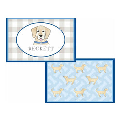 Happy Tails Dog Tabletop Collection - Placemat - Personalized