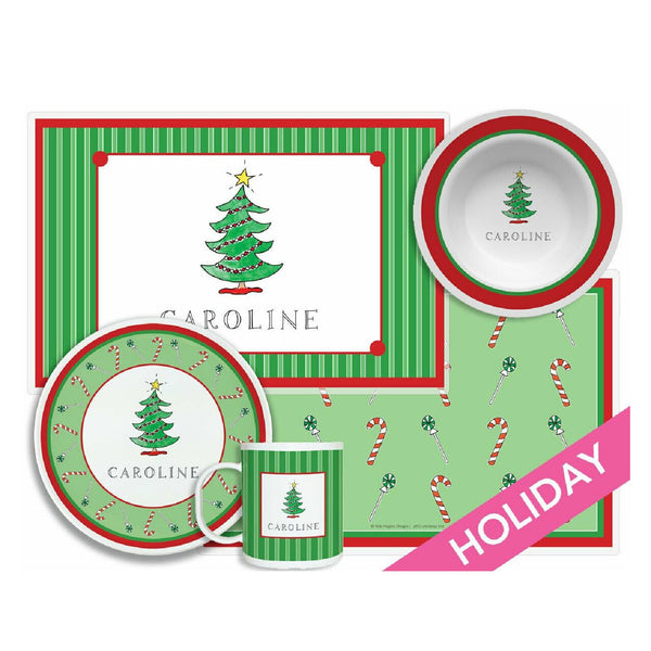 Christmas Tabletop Collection - Set of 4 - Personalized
