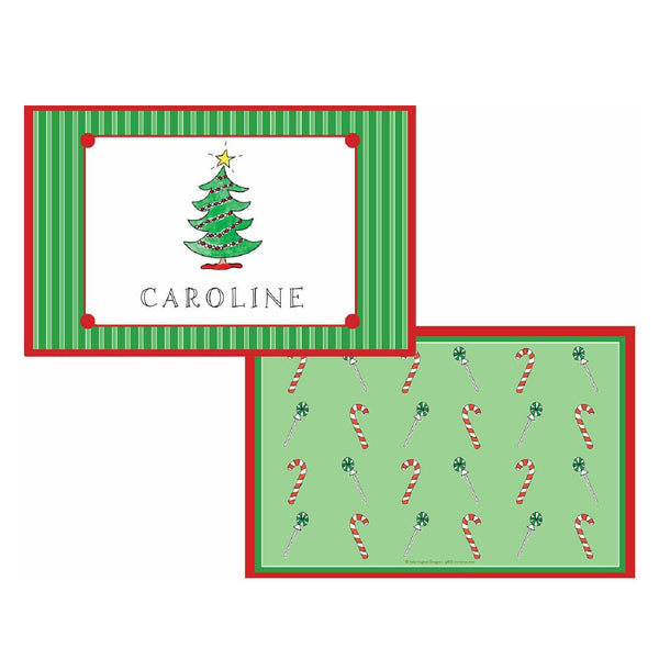 Christmas Tabletop Collection - Placemat - Personalized