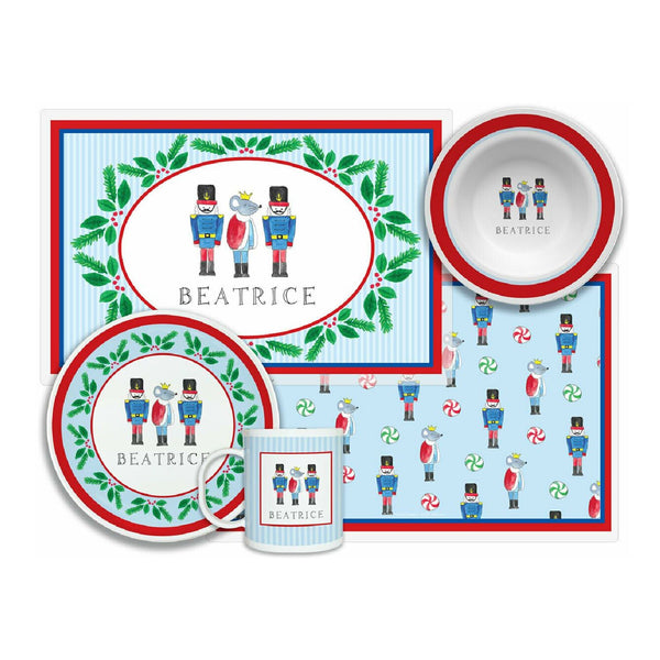 Nutcracker Tabletop Collection - 4-piece set - Personalized