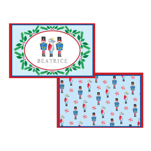 Nutcracker Tabletop Collection - Placemat - Personalized