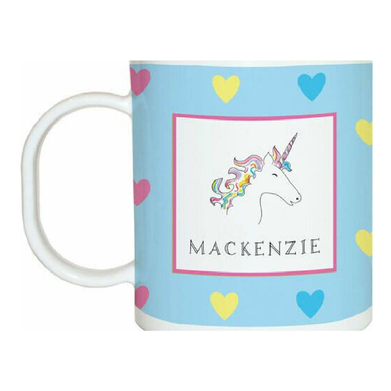 Over the Rainbow Unicorn Tabletop Collection - mug - personalized