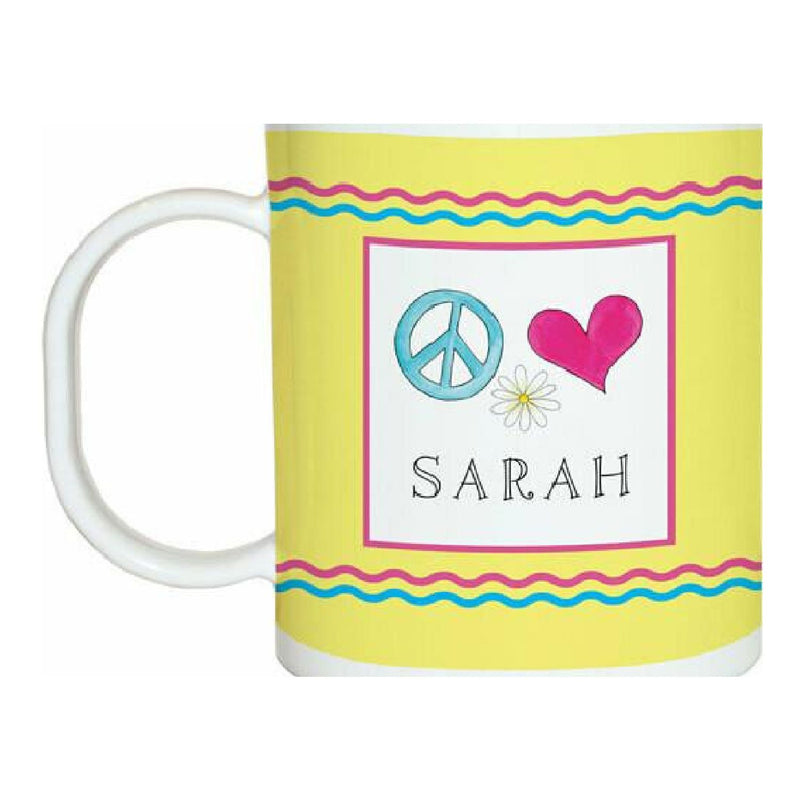 Peace Love Eat Tabletop Collection - Mug - Personalized