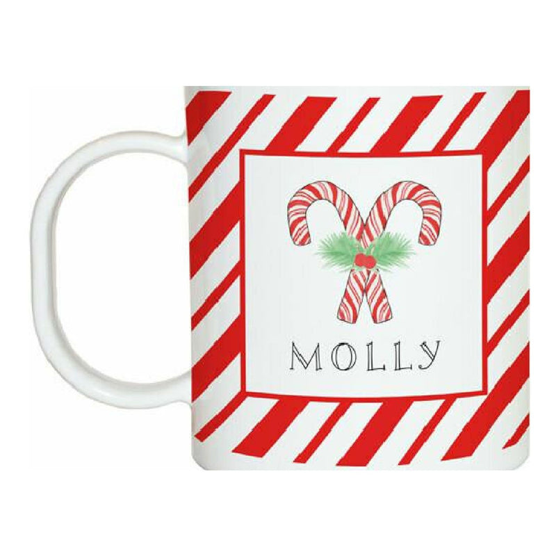 Peppermint Tabletop Collection - Mug - Personalized