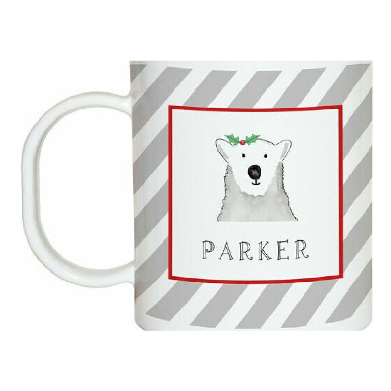 Polar Bear Tabletop Collection - Mug - Personalized