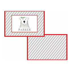 Polar Bear Tabletop Collection - Placemat - Personalized