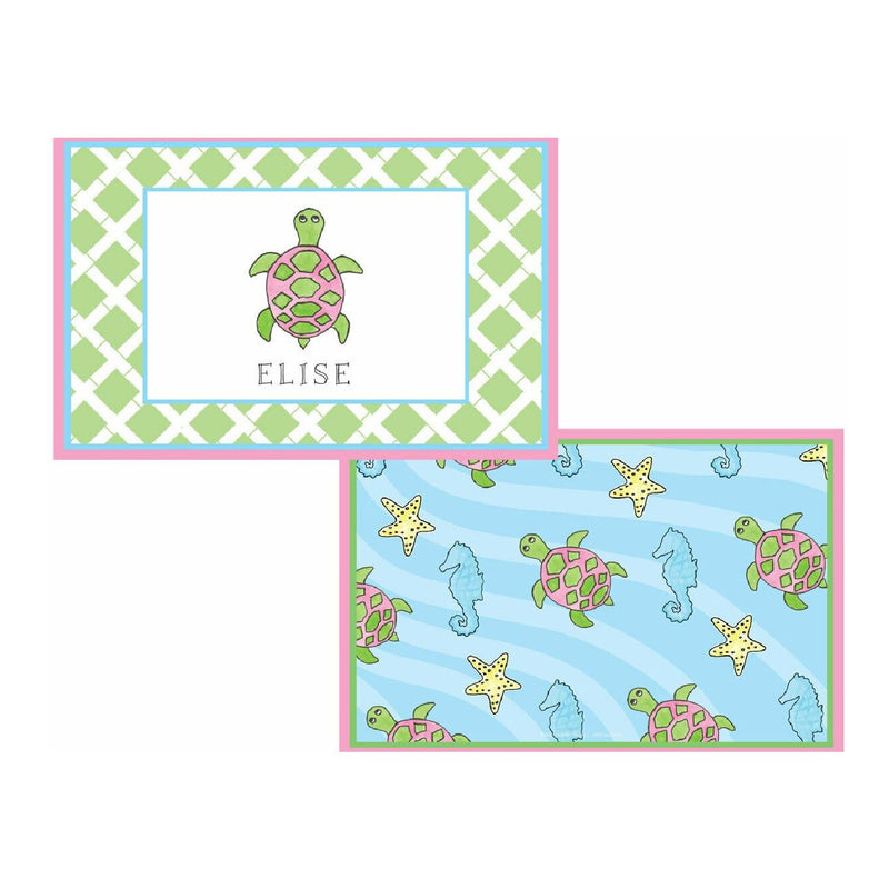 Sea Turtle Tabletop Collection - Placemat - Personalize