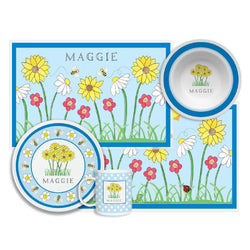 Wildflowers Tabletop Collection - 4-piece set - Personalized
