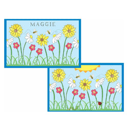 Wildflowers Tabletop Collection - Placemat - Personalized