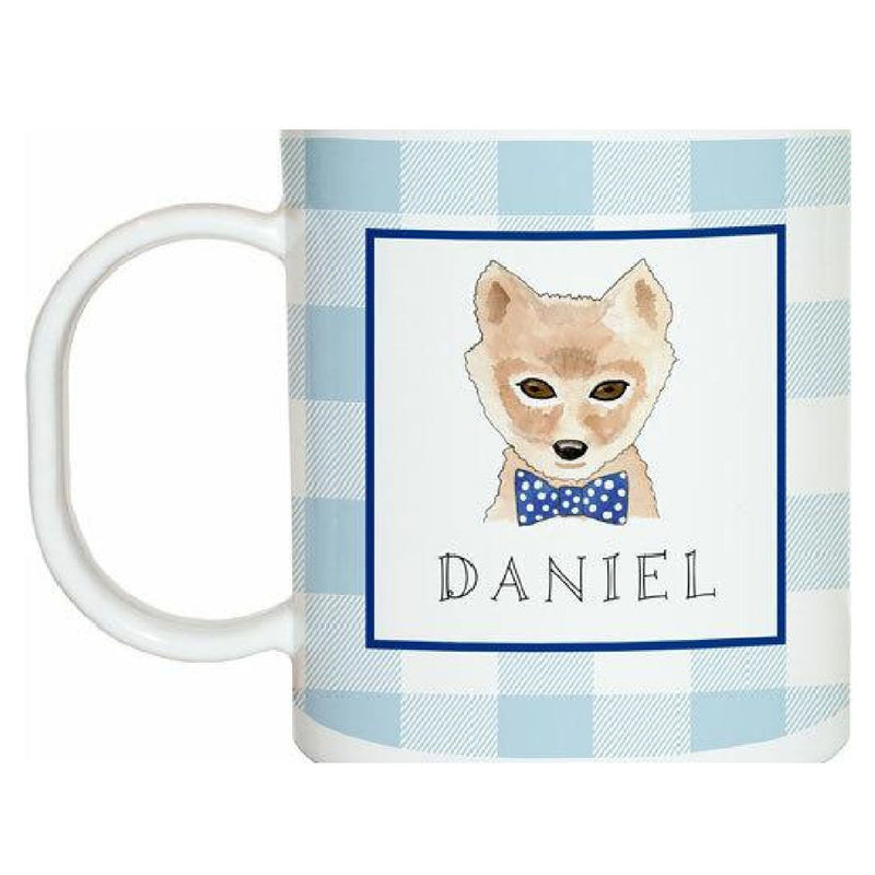 Woodsy Fox Tabletop Collection - Mug - Personalization